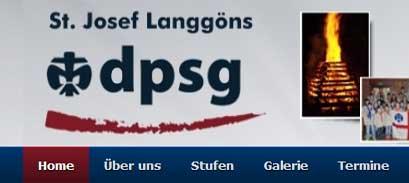 DPSG Langgöns Webseite