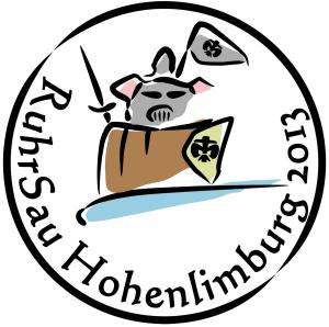 RuhrSau Ritter Logo 2013