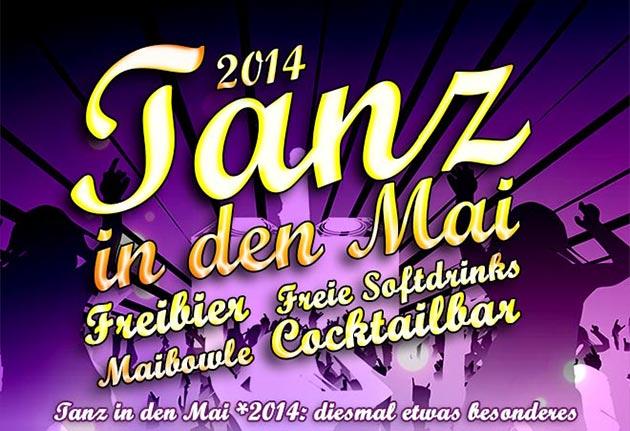 Tanz in den Mai 2014 in Witten
